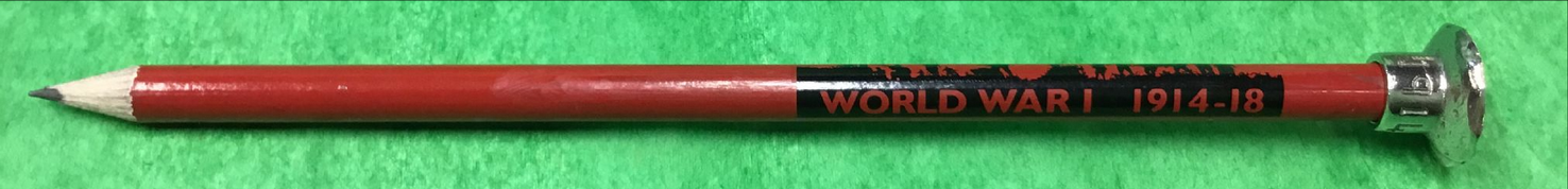 WW1 Poppy Pencil